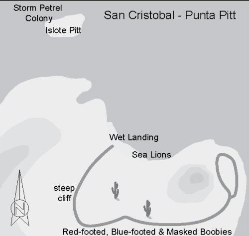 San Cristobal - Punta Pitt