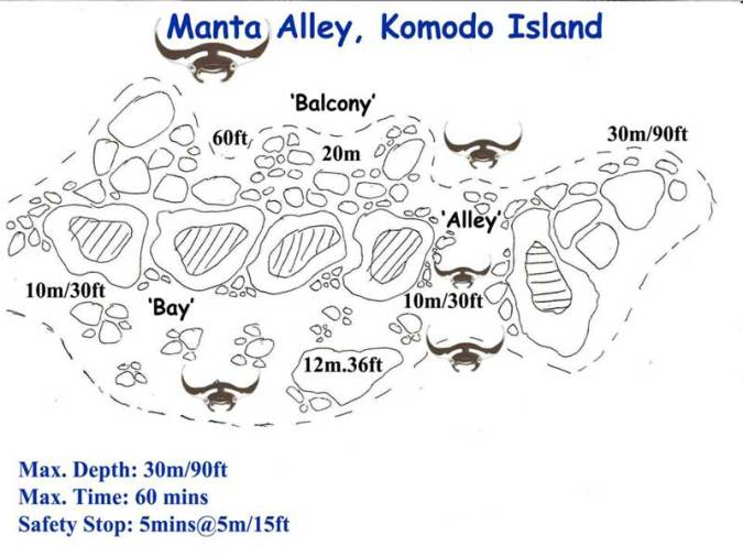 manta alley map