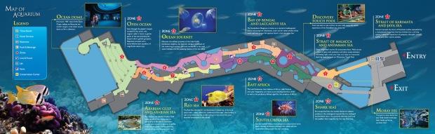 Carte SEA Aquarium