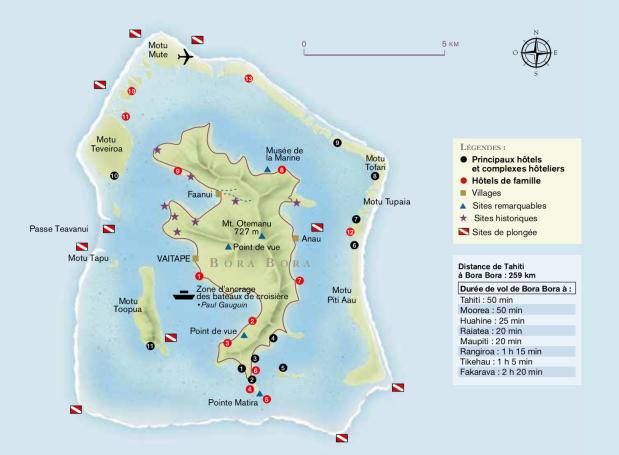 carte bora bora @ tahiti tourisme